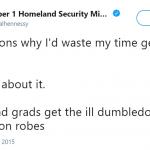 You know you could've just borrow someone's Dumbledore robes, right? (Photo: Twitter)
