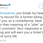 Actress, dancer and singer Rita Moreno condemned Roseanne's racist comments. (Photo: Twitter)