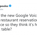 When you really want to go to that restaurant… (Photo: Twitter)