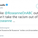 Golden Globe winner Don Cheadle joined in on the criticism about Roseanne's comments. (Photo: Twitter)