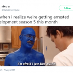 How we all feel about the new season of Arrested Development. (Photo: Twitter)