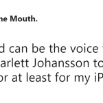 If not for everyone, at least for my iPhone, thank you very much. (Photo: Twitter)
