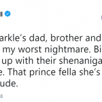 That prince fella she's marrying is a lucky dude. (Photo: Twitter)