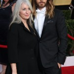 Jared Leto and his mother Constance arriving at the 20th annual Screen Actors Guild Awards. (Photo: WENN)