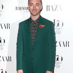 The musician attended Harper's Bazaar Women of the Year Awards 2017 sporting a very dapper green suit and a patterned black-and-white shirt. (Photo: WENN)