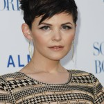 """Goodwin gave her pixie and edgier look with long choppy bangs and a messy top at the premiere of the movie """"Something Borrowed."""" (Photo: WENN)"""