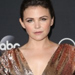 """Ginnifer wore her classic pixie cut pulled back off her face for the finale screening of """"Once Upon a Time."""" (Photo: WENN)"""