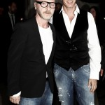 In 2015, Stefano Gabanna and his business partner Domenico Dolce, who is also openly homosexual, came out against LGBTQ families. (Photo: WENN)