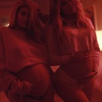 Khloé also became aunt to two new additions to the Kar-Jen clan: baby Chicago West and Stormi Webster. Kim, Kylie and Khloé were all pregnant at the same time. Koko even shared a never-before seen snapshot of her and baby sis' pregnant bellies. (Photo: Instagram)