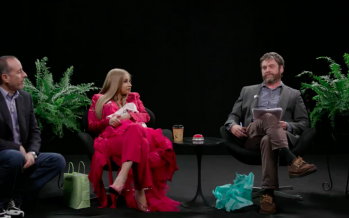 There's A New Episode Of Between Two Ferns And Twitter Can't Handle It's Excitement
