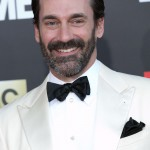 """His name is missing an """"h"""" and his last name has an extra """"m,"""" but given Jon Hamm's irresistible good looks we'll look pass his peculiar grammar. (Photo: WENN)"""