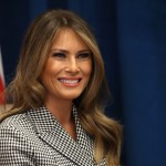 WHERE IS MELANIA? Twitter has some theories of what she's been up to during the last month. (Photo: WENN)
