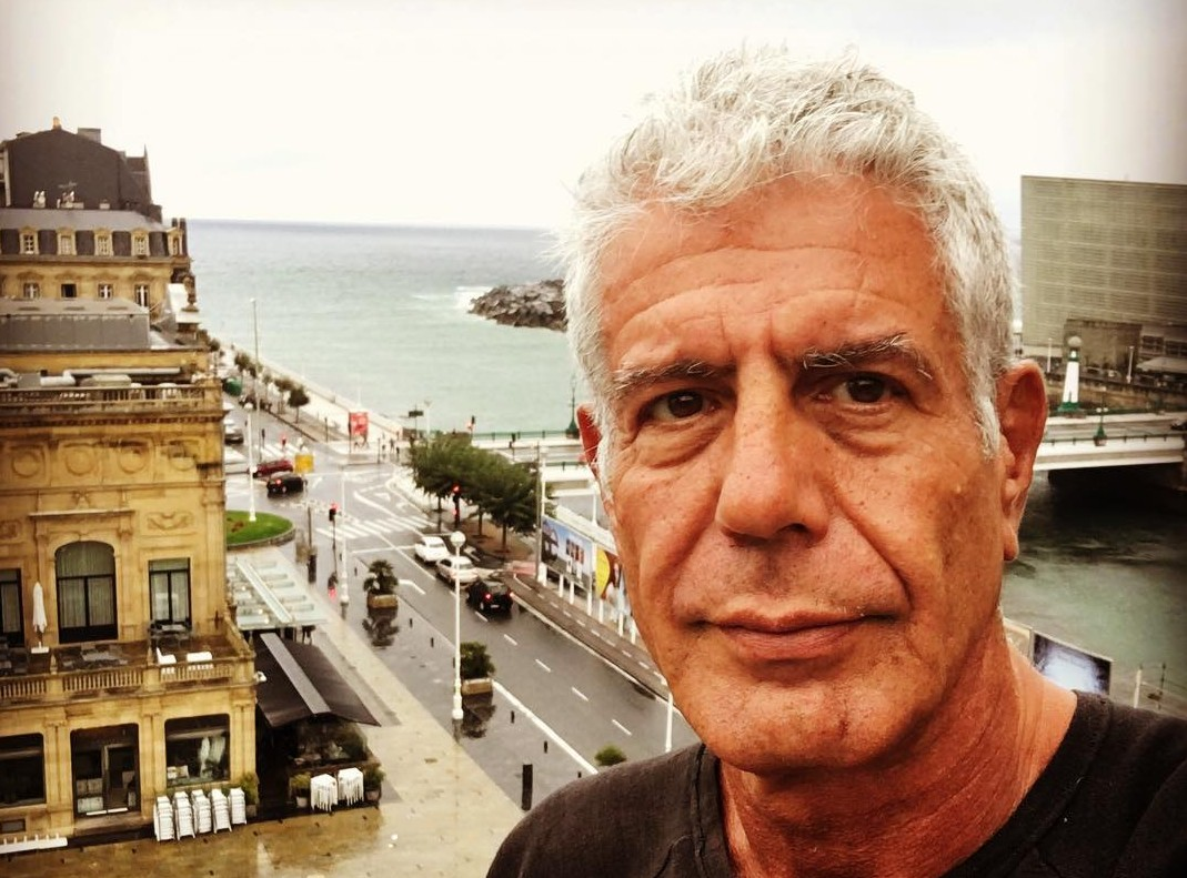 Bourdain's friends and fellow celebrities are taking to Twitter to mourn the dead of a true icon of the culinary world. (Photo: Instagram)