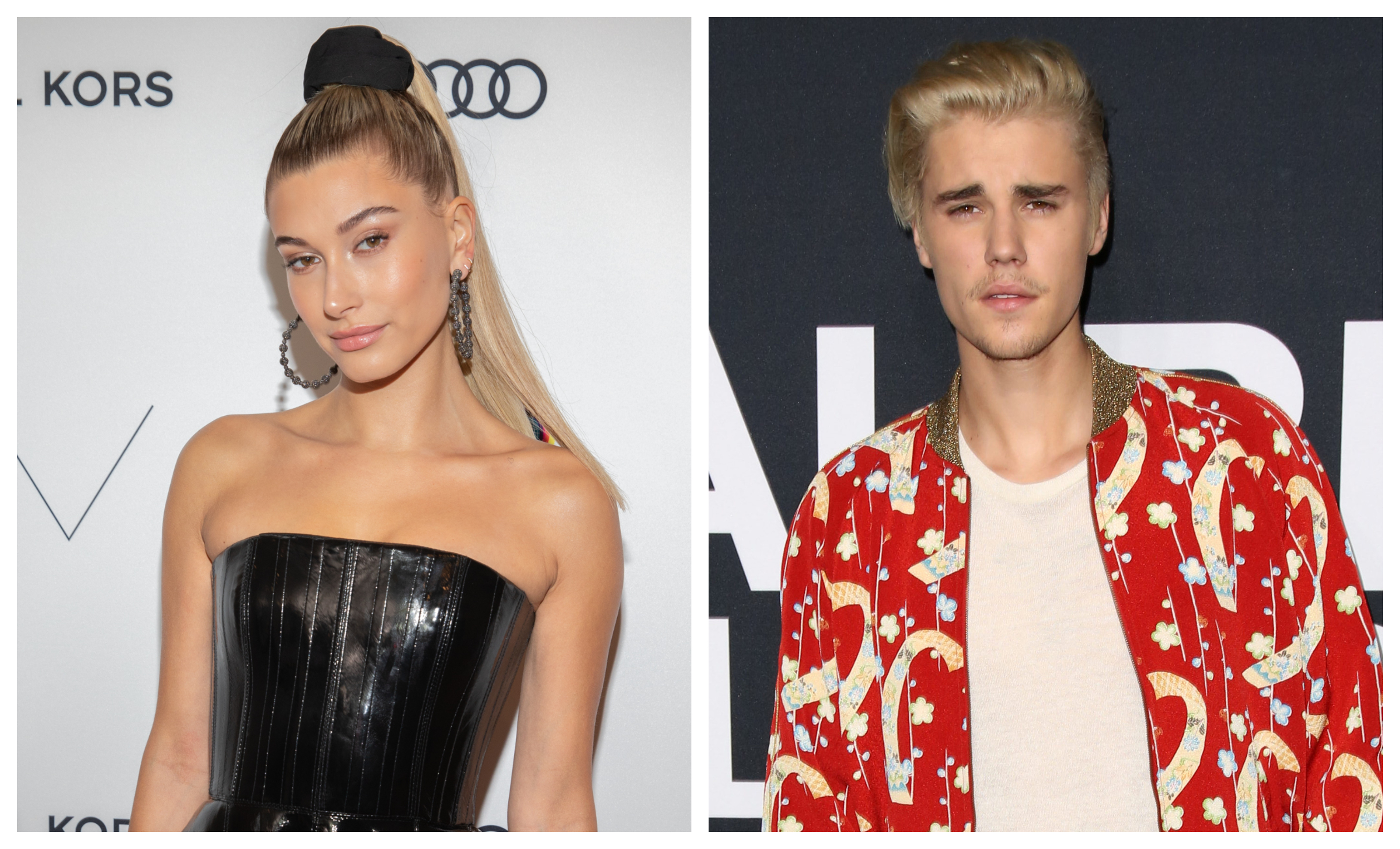 Justin Bieber and Hailey Baldwin are spotted together in Miami. (Photo: WENN)