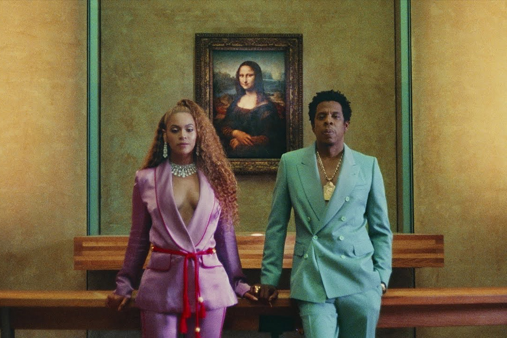Understandably, fans of the couple—including their new best friend Mona Lisa— have pretty much lost their minds since the unexpected release of the album. (Photo: Release)
