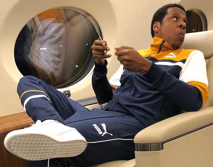 With Jay-Z leading the way, will Puma skyrocket to relevance in the basketball world? Twitter is a little skeptical. (Photo: Instagram)