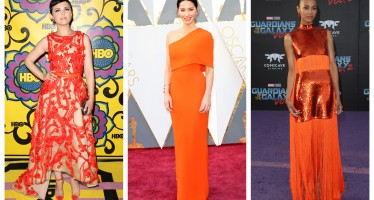 Happy National Orange Blossom Day! The 10 Best Citric-Insipired Dresses On the Red Carpet