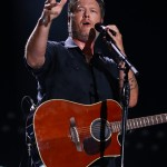 Blake Shelton singing his heart out at the 2018 Country Music Awards Fest Night Concerts in Nashville. (Photo: WENN)