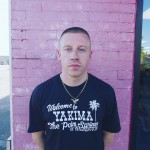 """His real name is Ben Haggerty. The rapper explained that the inspiration behind his stage name comes after an art project in high school. """"I was given this superhero in plastic wrapping. We had to give him a name. I named him Professor Macklemore."""" (Photo: Instagram)"""