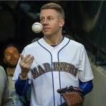 "Macklemore is a big baseball fan. In fact, his single ""My Oh My"" details his appreciation for late Mariners broadcaster Dave Niehaus. Not to mention his stage sounds pretty much like that of baseball player Mark McLemore. (Photo: Instagram)"