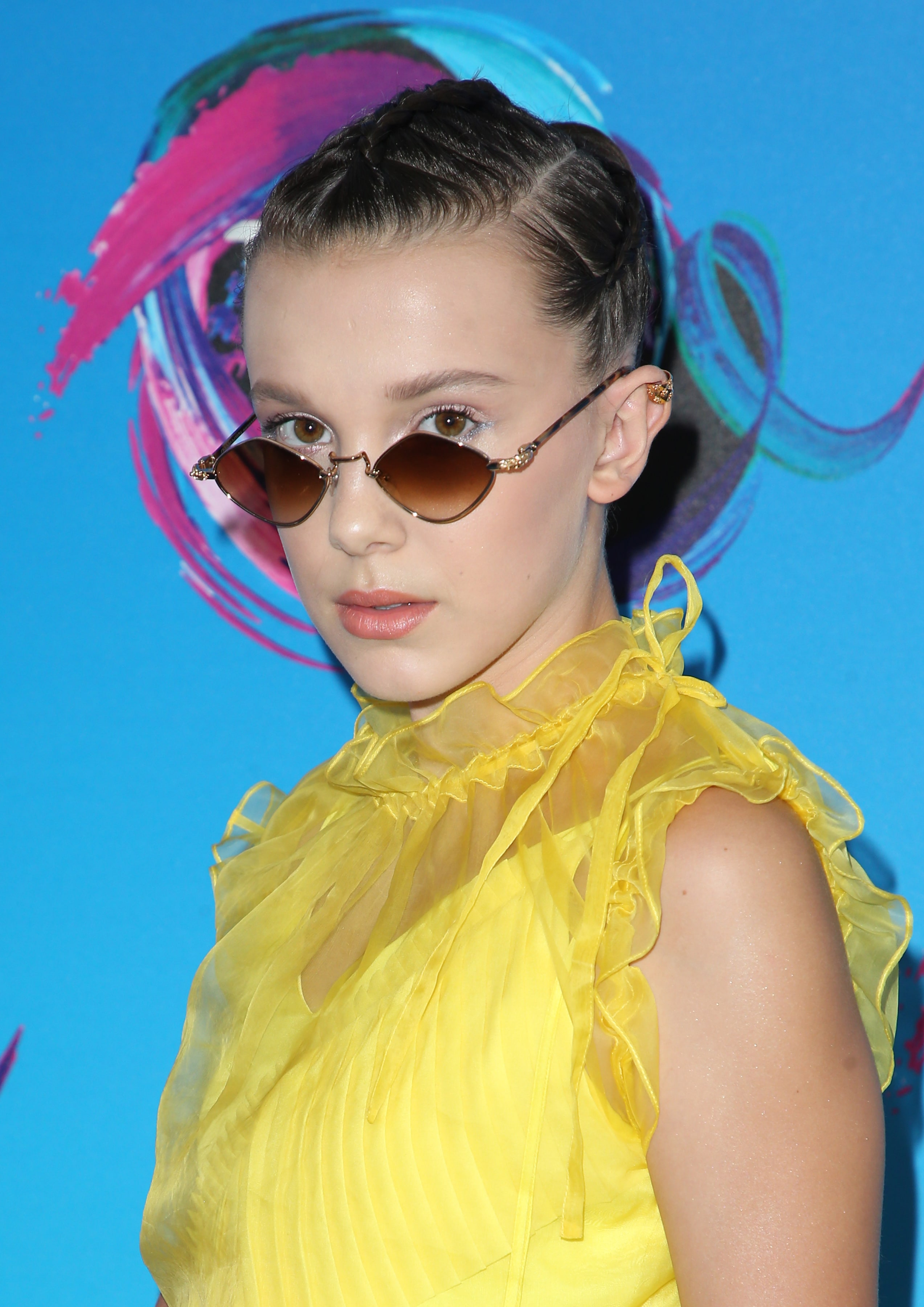 53dd5df543f Millie Bobby Brown was the coolest teen at the 2017 Teen Choice Awards  wearing a pair