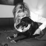 "At the beginning of 2017 Khloé said goodbye to her ""first child, companion, and friend,"" her doggie Gabbana. ""14 years is a long time together. She filled a significant role in my life and I'm forever grateful."" (Photo: Instagram)"