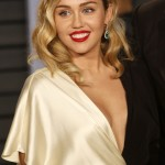 "Miley Cyrus also weigh on the issue, saying: ""Well what that d--- head said if it's true is f--- false and total b---"". (Photo: WENN)"