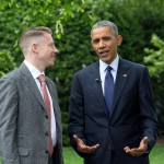 """Macklemore has been very open about his personal history with drug abuse. He even visited the White House in 2016 to join President Obama and discuss opioid addiction. """"I want to help other facing the same challenges I did,"""" he said. (Photo: Instagram)"""