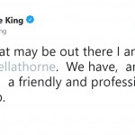 I. Marlene King denied the rumors that she and Bella are in a feud. (Photo: Twitter)