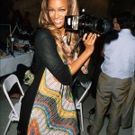 Tyra Banks made a name for herself in the modelling industry as one of the world's top models. Her years of experience working in front the camera as a have undoubtedly helped her learn the photographic trade. (Photo: Instagram)