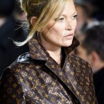 "Last Week, Stefano Gabanna indicated his disapproval of Kate Moss' Saint Laurent look simply writing ""No"" underneath a photo posted to The Catwalk Italia. (Photo: WENN)"