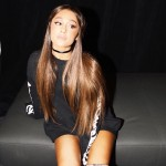 Ari showing off her long, beautiful brunette locks. (Photo: Instagram)
