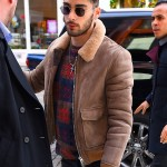 Zayn Malik gave us major aviator vibes even when he wore a pair of tiny Krewe Sunglasses while walking around NYC. (Photo: WENN)