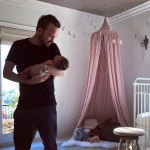 """Breaking Bad"" alum Aaron Paul became a dad for the first time when wife Lauren gave birth to their daughter, baby girl Story Annabelle Paul on early February. (Photo: Instagram)"