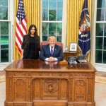 Donald Trump has finally had his meeting with Kim. Not Kim Jong Un the North Korean leader, but Kim Kardashian the reality TV queen. The makeup mogul and POTUS had a meeting on Wednesday to chat about prison reform. (Photo: Instagram)