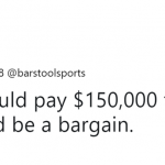 I'll take that deal. (Photo: Twitter)