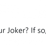 If your answer isn't Heath Ledger, we can't be friends anymore. (Photo: Twitter)