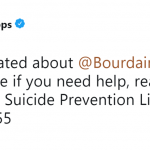 Actress Busy Philipps shared the National Suicide Prevention Lifeline on Twitter. (Photo: Twitter)