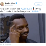 The USA when they were disqualified. Makes sense now. (Photo: Twitter)