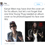 Thugga's a genius. Our generation's Prince. (Photo: Twitter)