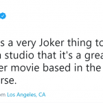 Seems like Leto is already in character. (Photo: Twitter)