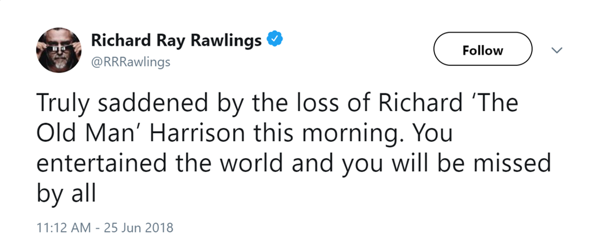 """Pawn Stars"""" Fans Mourn The Dead Of Richard """"The Old Man"""