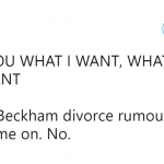 Get your act together, Beckhams! You could be just fine. (Photo: Twitter)