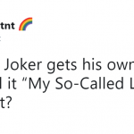 That's the only reason to make a standalone Joker movie with Leto in the first place. (Photo: Twitter)