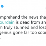 Actor Josh Gad was shocked over the news of the dead of Anthony Bourdain. (Photo: Twitter)
