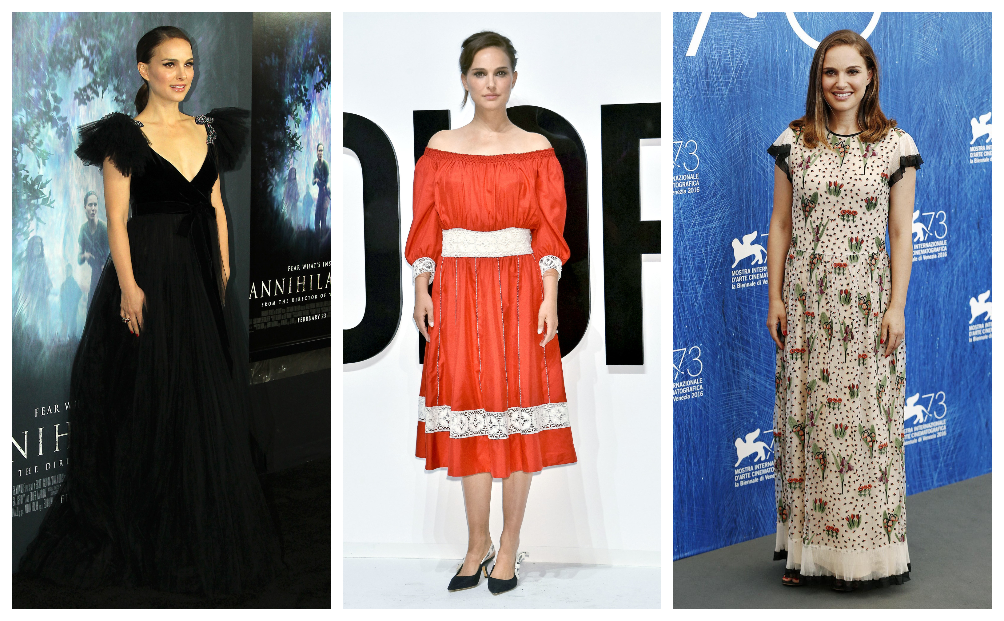 From architectural masterpieces to classic old Hollywood glamour, to boho-inspired outfits, Portman has had some stand-out red carpet moments. (Photo: WENN)