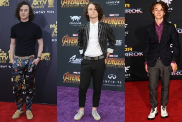10 Pictures That Prove Wyatt Oleff Is A Fashion Style Revelation