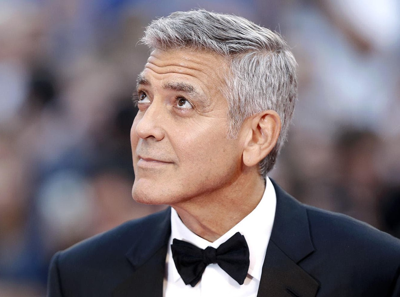 George Clooney was involved in a minor car crash. (Photo: WENN)