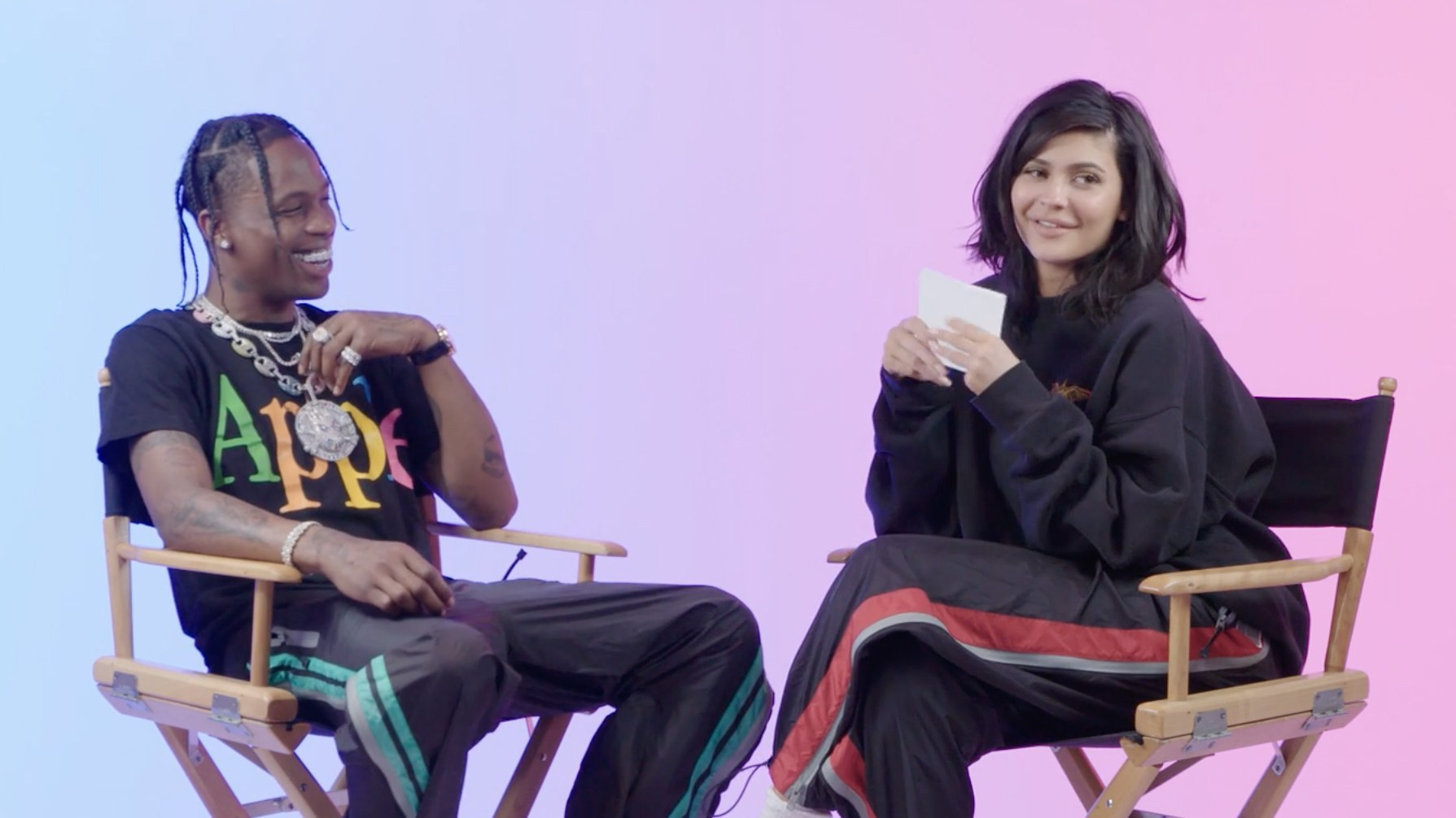 Click through our photo gallery to see the painful reactions to Kylie Jenner and Travis Scott catastrophic quiz. (Photo: Release)