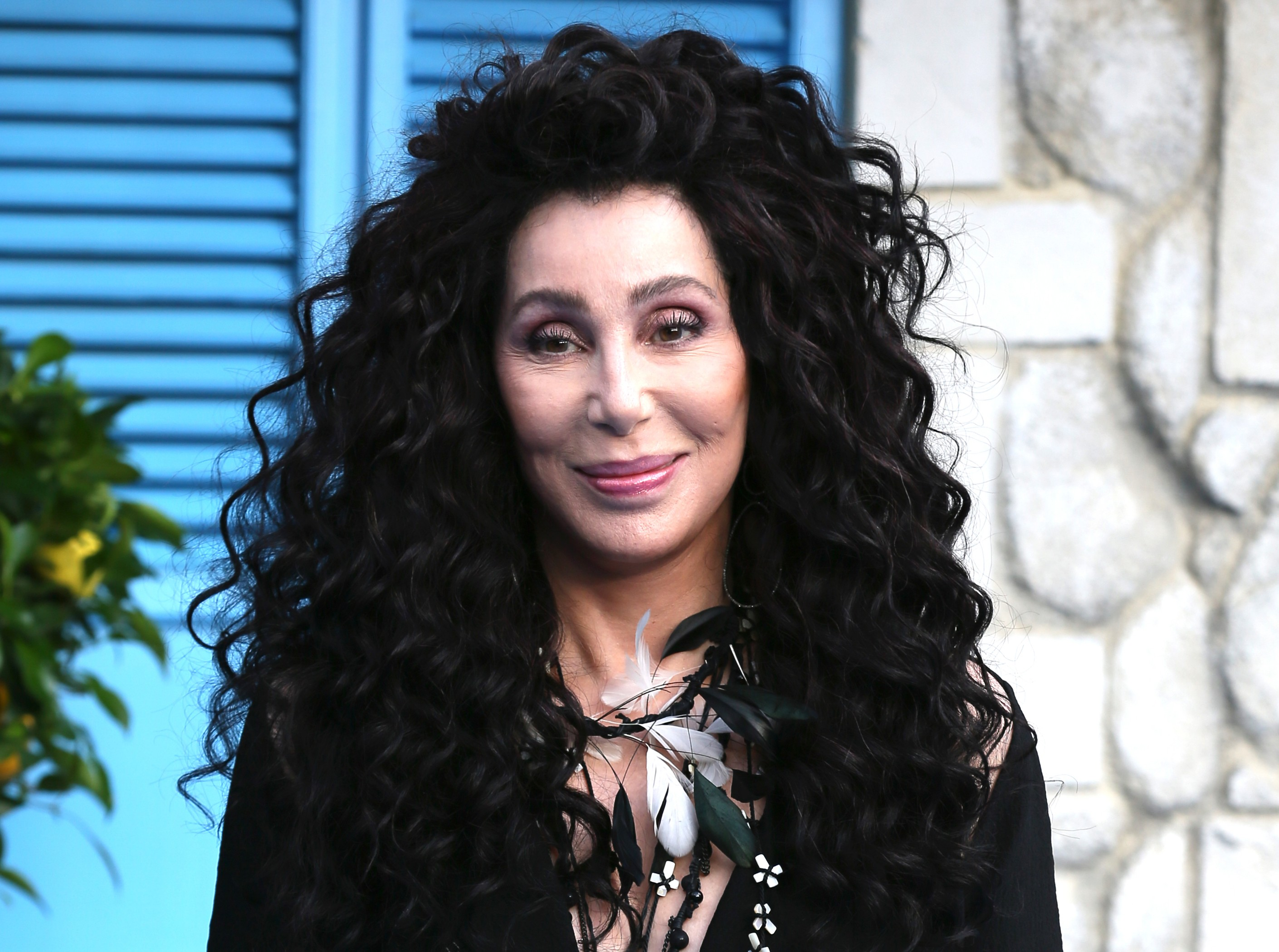 "Because Twitter knows there's no fun in responding with a good old-fashion ""Hello"". Here are the best jokes to Cher's ""Hi again"" tweet. (Photo: WENN)"